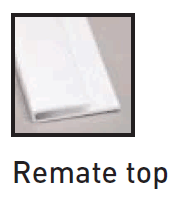 REMATE TOP PARA LINER PANEL | Plafones e Interiores